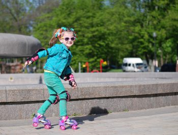 Skate around the academy area